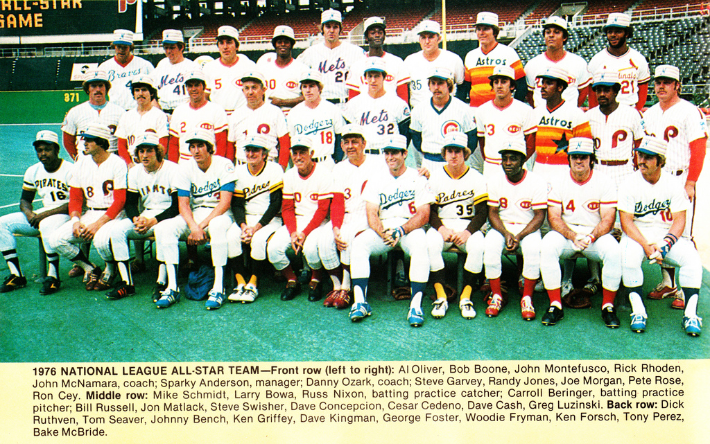 Phillies at the All Star Break -- A Look Back to 1976