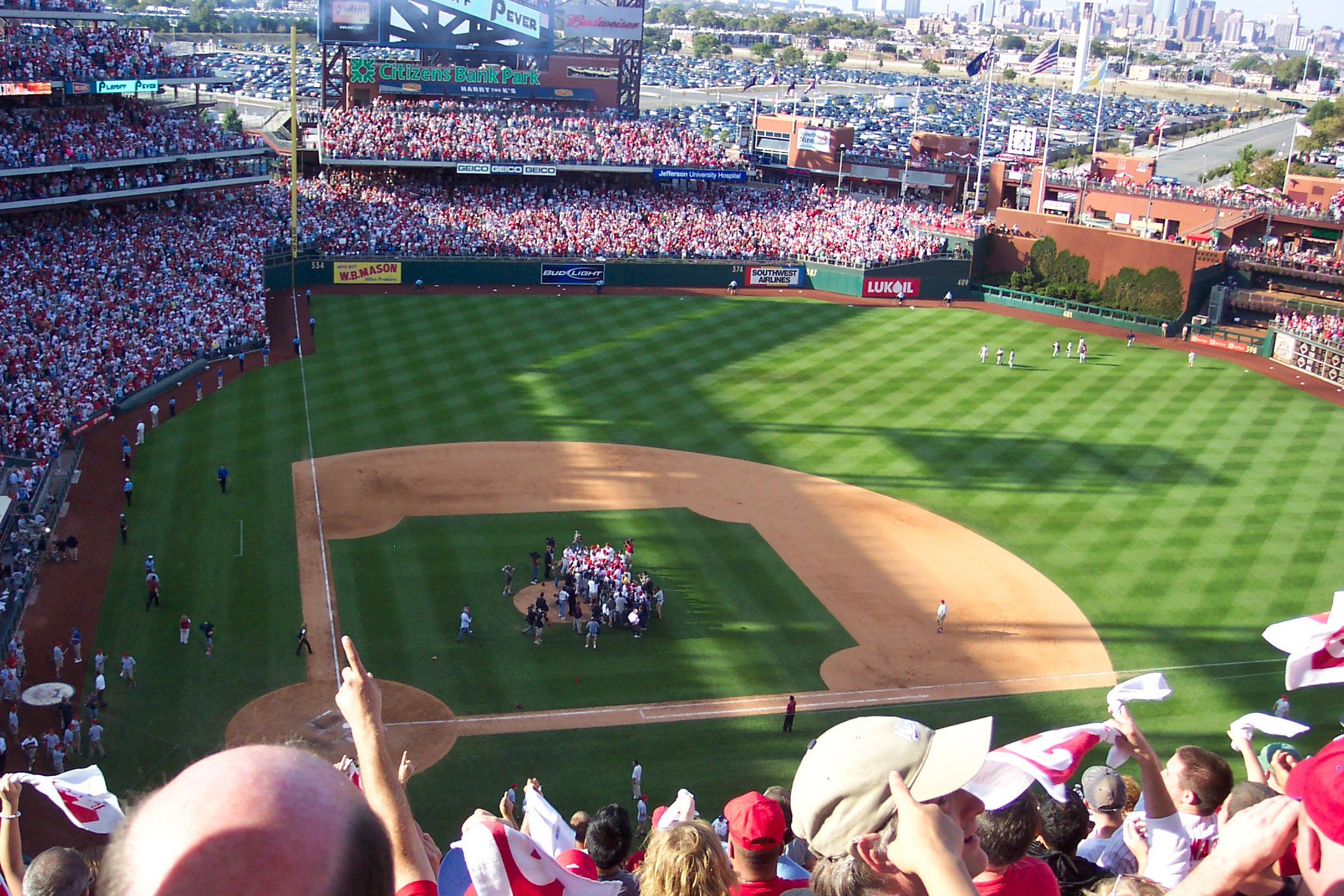 9 Thoughts From the Game (Now w/ Video) -- Phils Win 6-1 NL East Champions